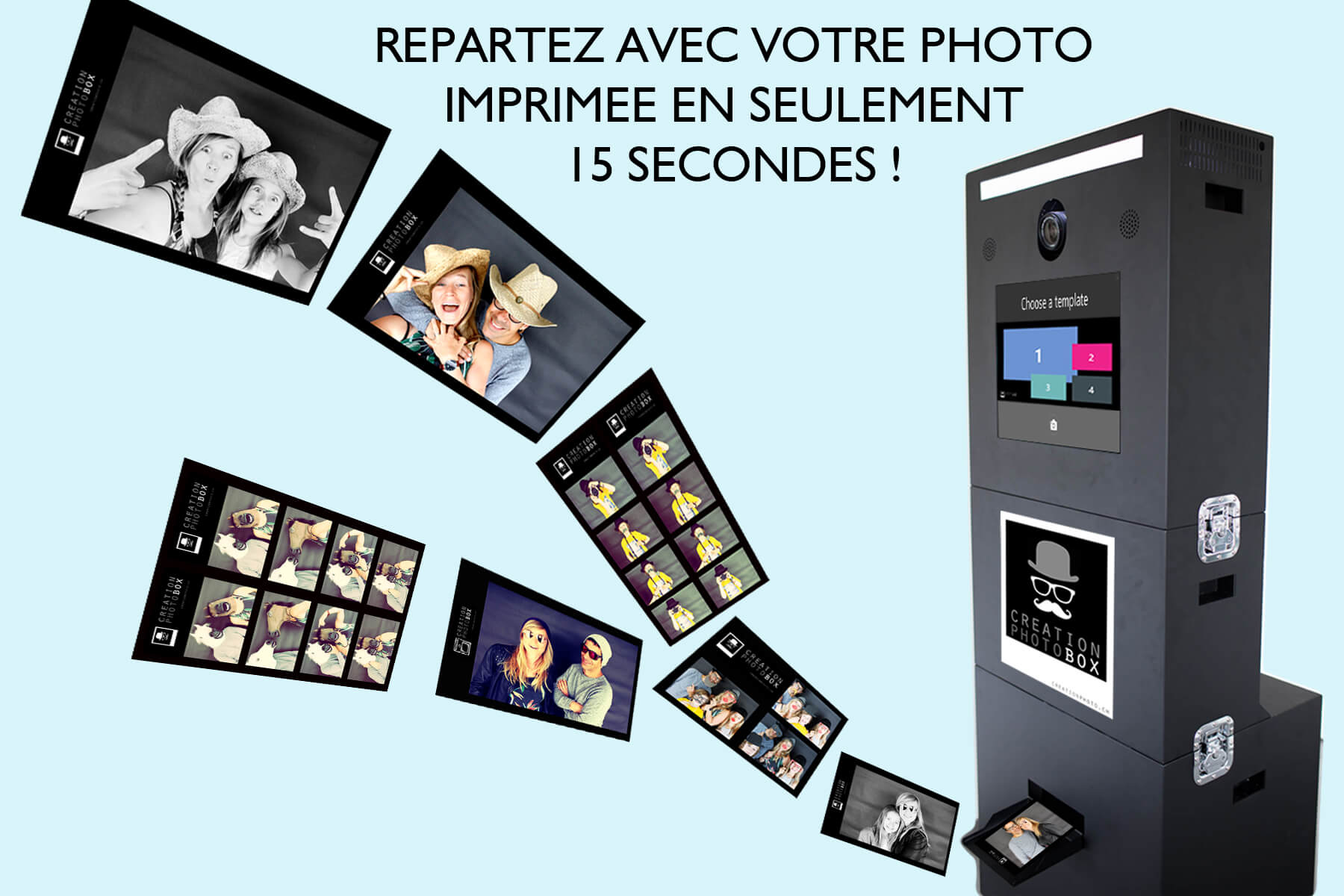 La creationphotoBox  +Pack Print HD
